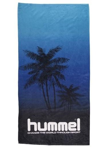 Hummel Plaj Havlusu Mavi